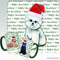 Bichon Frise Holiday Mug