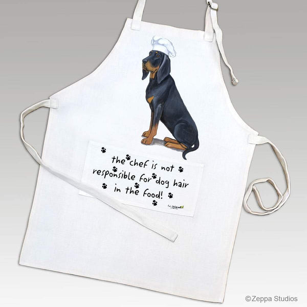 Black and Tan Coonhound Apron