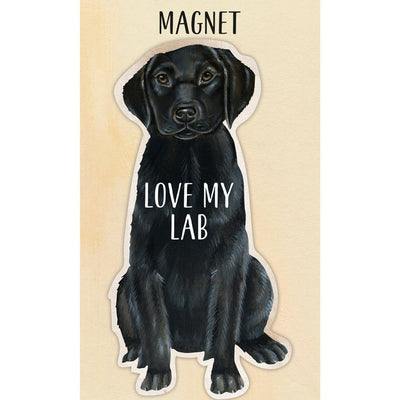 I Love My Black Lab Magnet