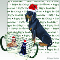 Black and Tan Coonhound Holiday Mug