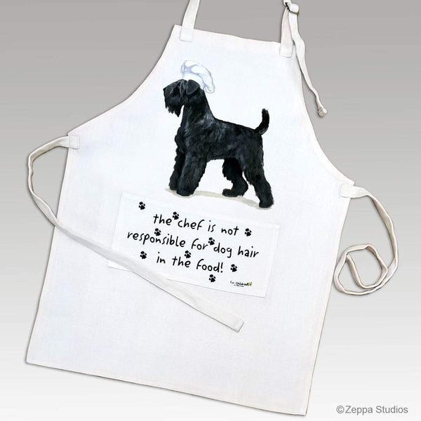 Black Russian Terrier Apron