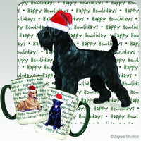 Black Russian Terrier Holiday Mug