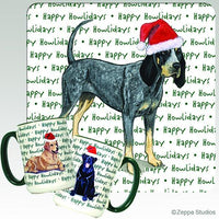 Bluetick Coonhound Holiday Mug
