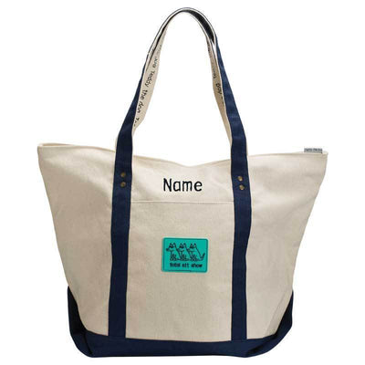 Total Sit Show - Canvas Boat Tote - Customizable