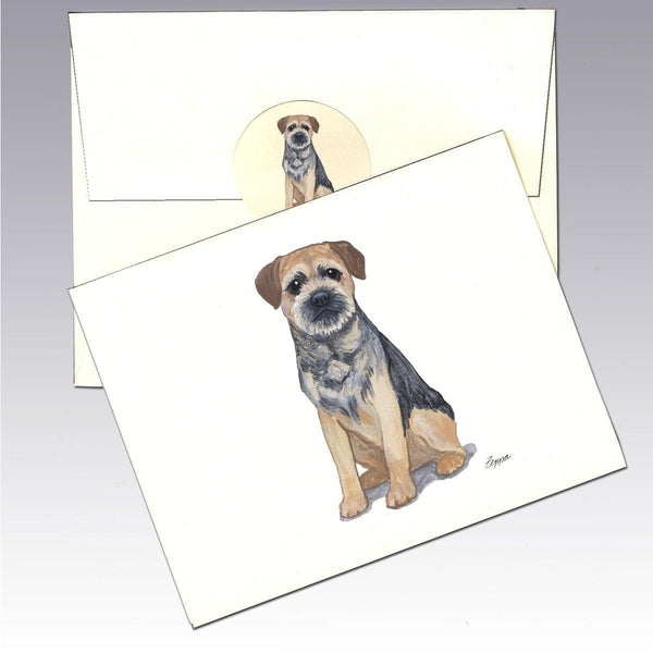 Border Terrier Note Cards