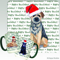 Border Terrier Holiday Mug