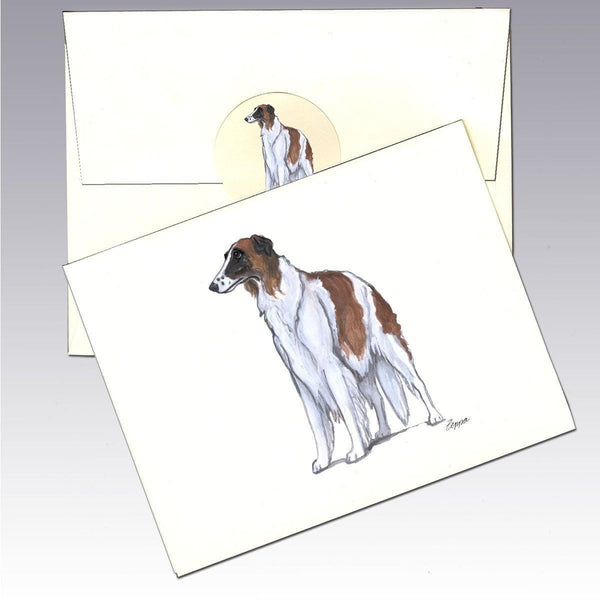 Borzoi Note Cards