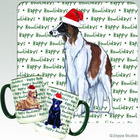 Borzoi Holiday Mug