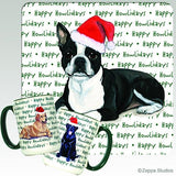 Boston Terrier Holiday Mug