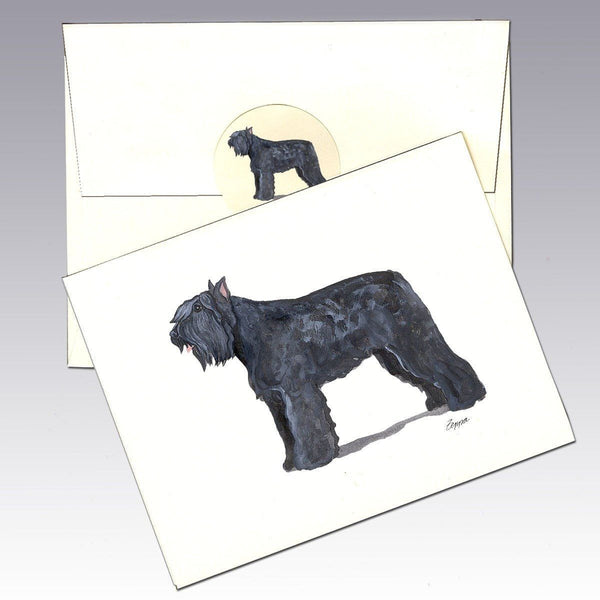 Bouvier Note Cards