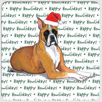 "Boxer ""Happy Howlidays"" Coaster"