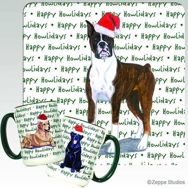 Boxer Holiday Mug