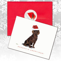 Boykin Spaniel Christmas Note Cards