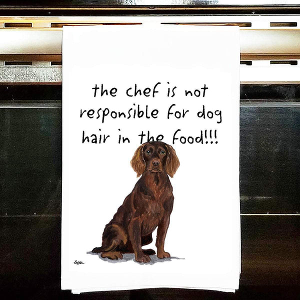 Boykin Spaniel Tea Towel