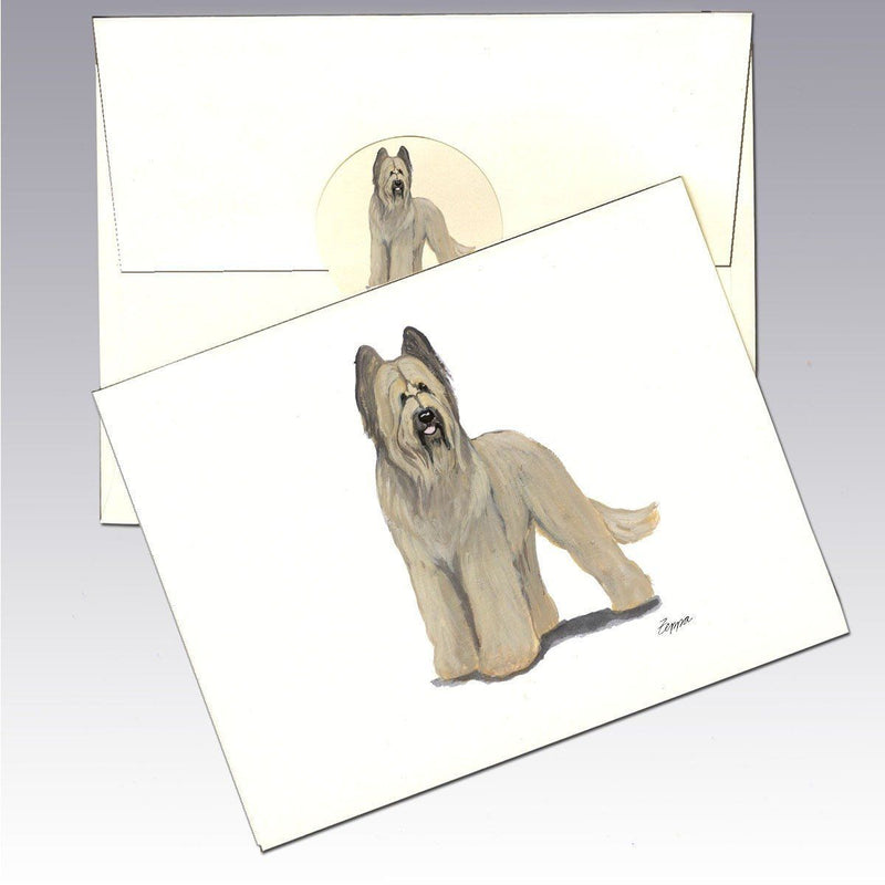 Briard Note Cards