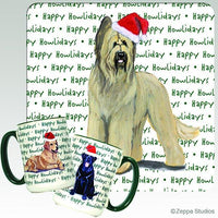 Briard Holiday Mug