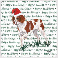 "Brittany ""Happy Howlidays"" Coaster"