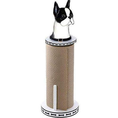 Boston Terrier Paper Towel Holder