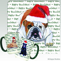 Bulldog Holiday Mug