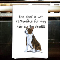 Bull Terrier Tea Towel