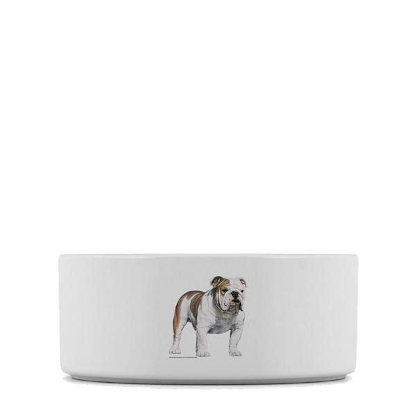 Bulldog Dog Bowl