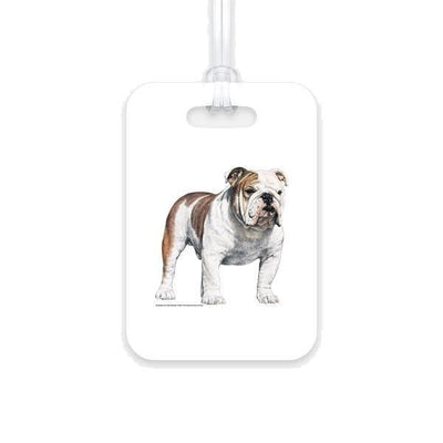 Bulldog Luggage Tag