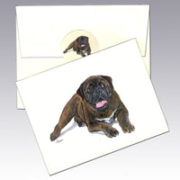 Bullmastiff Note Cards