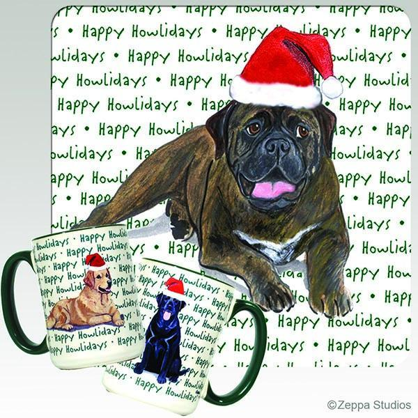 Bullmastiff Holiday Mug