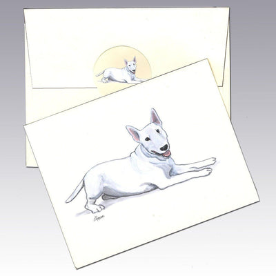 Bull Terrier Note Cards