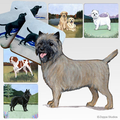 Cairn Terrier Scenic Coaster