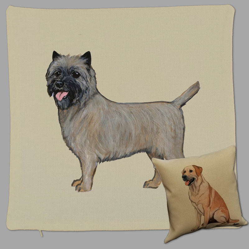 Cairn Terrier Pillow Cover