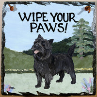 Cairn Terrier Slate Sign