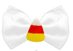 Candy Corn Bow Tie With Collar