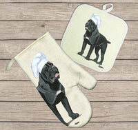 Cane Corso Oven Mitt and Pot Holder