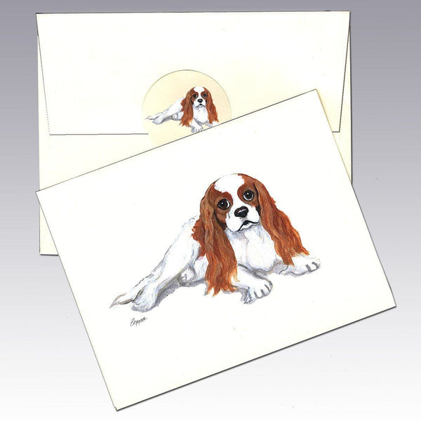 Cavalier King Charles Spaniel, Blenheim Note Cards