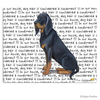 Black and Tan Coonhound Cutting Board