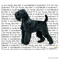 Black Russian Terrier Cutting Board