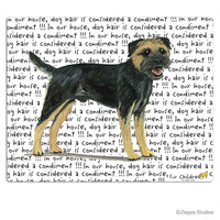 Border Terrier, Black and Tan Cutting Board