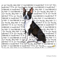 Boston Terrier Cutting Board