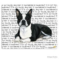 Boston Terrier, Lying Down Cutting Board