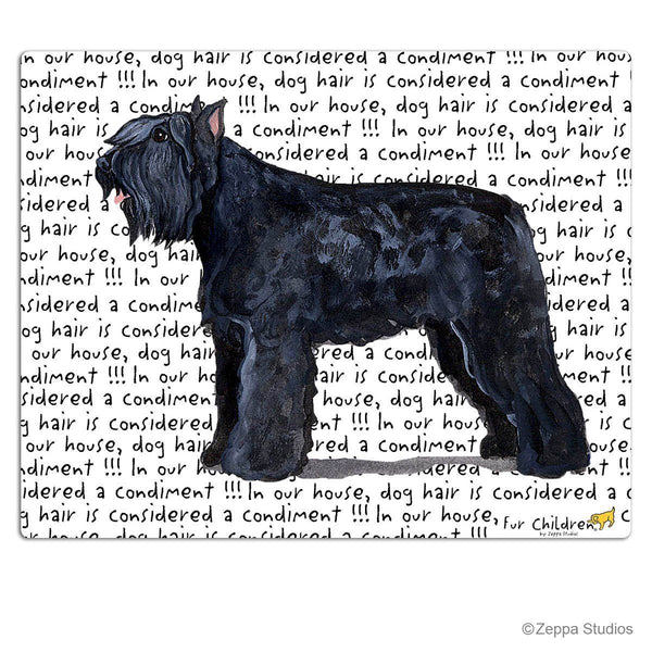 Bouvier des Flandres Cutting Board