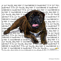 Bullmastiff Cutting Board