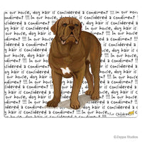 Dogue de Bordeaux Cutting Board