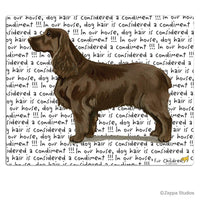 Field Spaniel Cutting Board