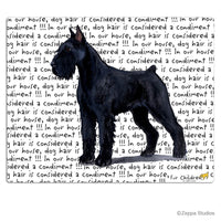 Giant Schnauzer Cutting Board