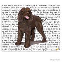 Irish Water Spaniel Cutting Board