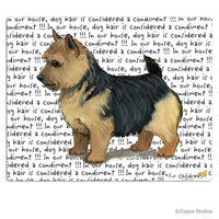 Norwich Terrier, Black Saddle Cutting Board