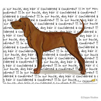 Redbone Coonhound Cutting Board