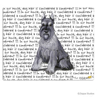 Schnauzer Cutting Board