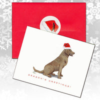Chesapeake Bay Retriever Christmas Note Cards